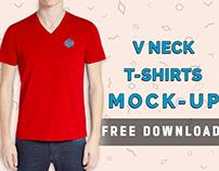 V Neck Mock-Up