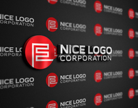 Indigo - E letter logo