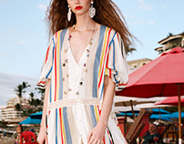 Striped dress Editorial SUMMER PACKING-ZARA TRAFALUC