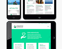 Fondation du Domaine-du-Roy _ Site Web | Website