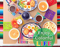 【Webデザイン】Colorful Life 新生活特集ページ