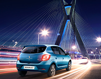 Renault :: Sandero Urban Cable Stayed Bridge