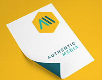 Authentic Media - Brand Identity