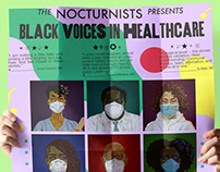Podcast Posters: Black Voices in Healthcare