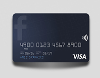 Facebook Credit Card Concept