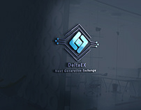 DeltaEx logo design