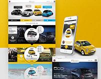 Fiat 500 - restyling sito (proposta di gara)