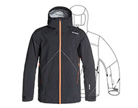 SPORTS APPAREL design: Quiksilver Outerwear