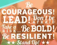 Inspirational Speaker Mailer Posters