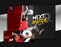 Match Card Egypt Vs Morocco
