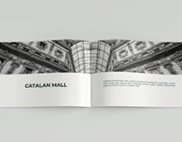 CATALAN MALL English Brochure Design