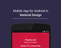 Material Design App | Game