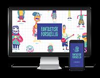 FANTASTISK FORSKELLIG | Digital design