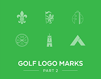Golf Logo Marks Part 2