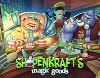 Splash Screen for Shopenkraft's Magic Good