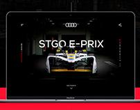 Audi F-1 | Landing page