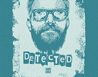 """T-shirt - """"MAD TEASER""""- """"DETECTED"""""""