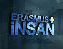 ERASMUS+İNSAN TV PROGRAMI LOGO TASARIMI