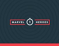 Marvel Heroes Statistics Logo