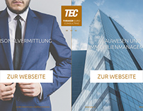 Thraker Euro Consulting website design