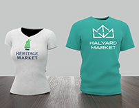 Historic Properties Market Mall Identity Redesign