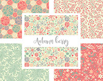 Autumn berry Collection - Surface Design