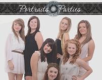 Portraits & Parties Branding