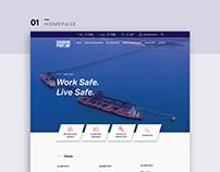 Designing Darwin Port website - Design by Bree Designs
