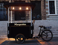 Marquesitas vending bike