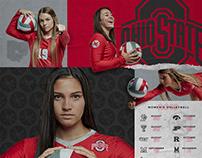 Ohio State Buckeyes Women's Volleyball Schedule Poster
