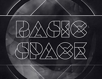 BASIC SPACE - animated typeface