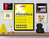 Espécimen tipográfico | HELVETICA