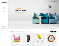 Optimize - Minimalist Ecommerce Template