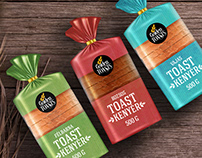 Toast logo and packaging design