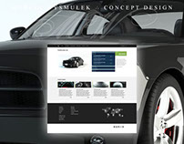 Car company website (concept) for Bootstrap