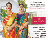Weavers Emporium Wedding Campaign Done By Design Dawat