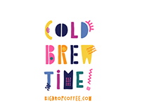 Cold Brew Coffee Time