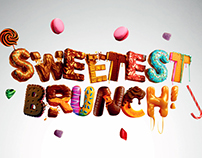 The Sweetest Brunch Branding