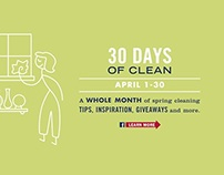 Mrs. Meyer's Clean Day       30 Days of Clean Promotion