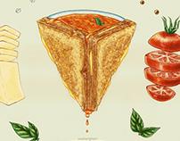 Grilled Cheese Mandala