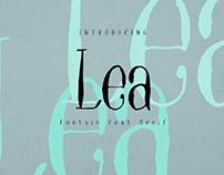FREE | Lea Serif Fountain Pen Font