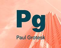 Paul Grotesk (Free Font)