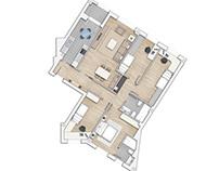 Planos con texturas para apartamentos en Barcelona