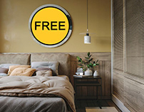 FREE Interior Scene Bedroom 240