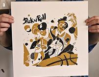 Pick n Roll / Back Fist prints