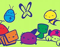 Bug Cheese Characters