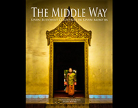 The Middle Way a Photography Book by Julian Bound
