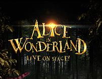 Poster Design Alice in Wonderland