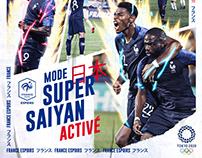 FFF Espoir x JO Tokyo 2020 Mode Super Saiyan Activé