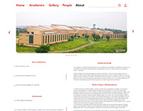 UI Design for Design Discipiline, Jabalpur